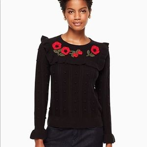 KATE SPADE New York poppy sweater